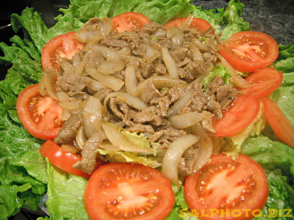 Cambodian Stir-Fry with Pork prepared by Sareum B. ....more...http://khatiya-korner.com/blog/2011/02/05/cambodian-style-stir-fry-lemongrass/